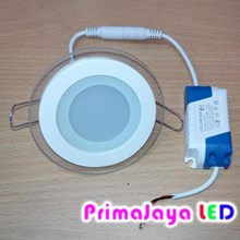 Downlight bulat Kaca 6 watt
