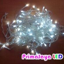 LED Variasi Tirai Putih