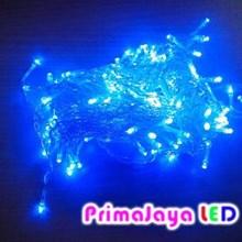 LED Variasi Tirai Biru