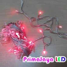 Lampu Natal Twinkle Merah