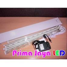 Lampu Meteor 50cm 10pcs White