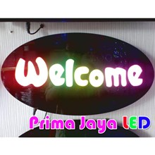 LED Sign Welcome