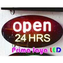 LED Sign Open 24 Hours