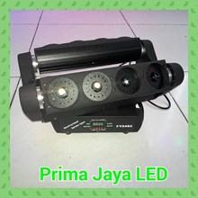 Lampu Laser Spider Hijau 8 Mata