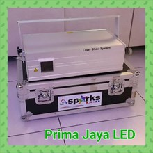 Lampu Laser Spark Silver 1 Watt RGB