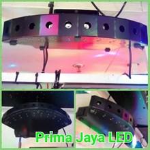 Lampu Laser Solid Hijau 10 Mata