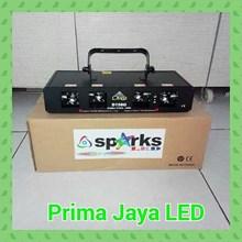 Lampu Laser Hijau 4 Mata D150 G