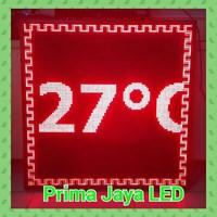 Display Temperature LED Merah 1
