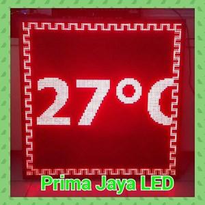Display Temperature LED Merah