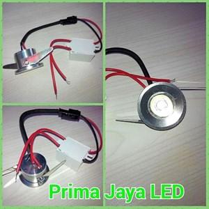 LED Ceiling 1 Watt Body Silver