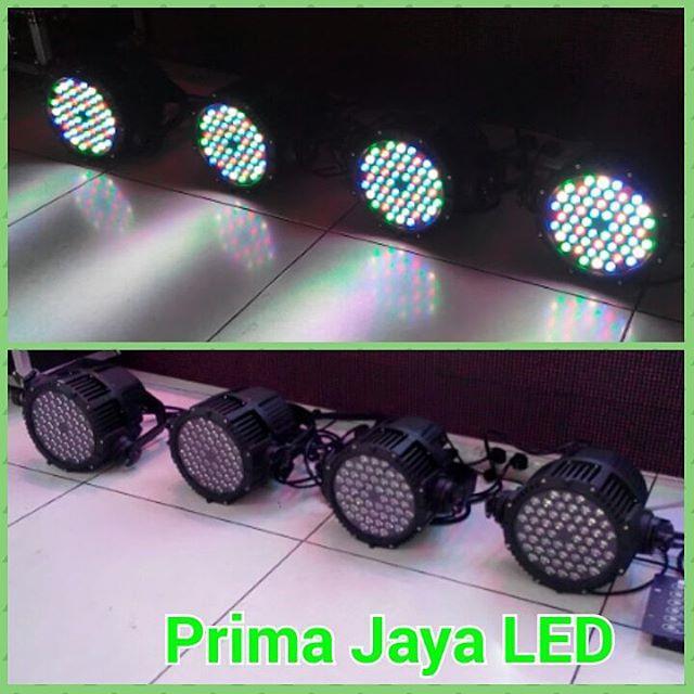 Jual Lampu Par LED 54 X 3 Watt Outdoor Harga Murah Jakarta