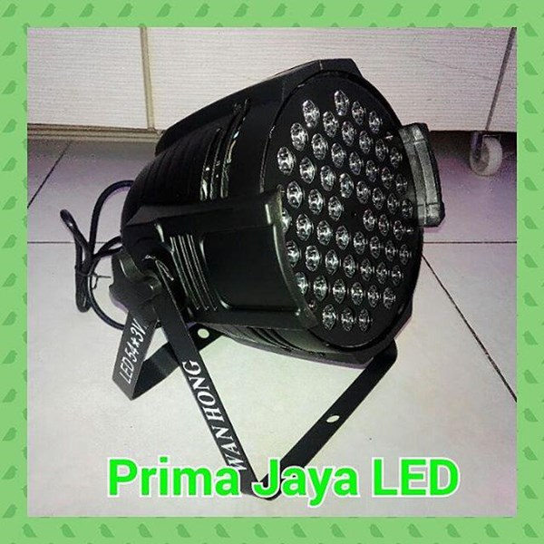 New LED Par 54 X 3 Watt RGBW