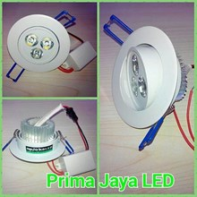 Ceiling LED Body Putih 3 Watt