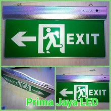 LED Sign Exit Emergency Hijau
