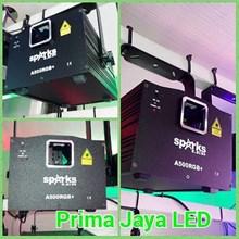 Lampu Laser Spark A500 RGB