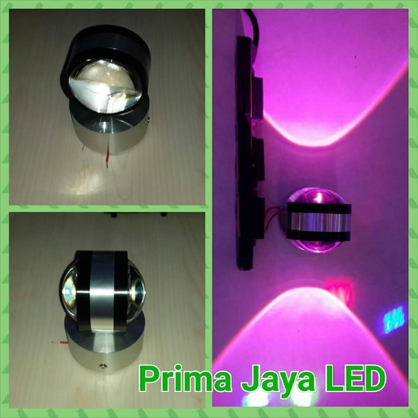 Interior LED Two-Sided Pink