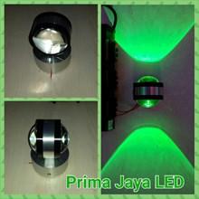LED Interior Dinding 2 Arah Hijau