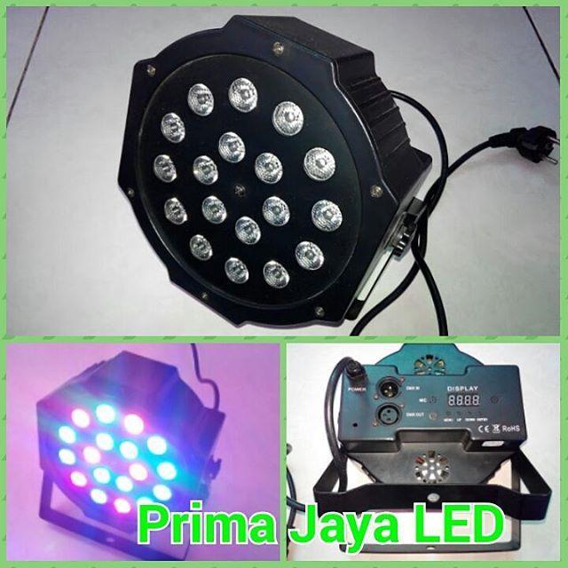 Jual Lampu Par LED 18 X 3 Watt RGB Harga Murah Jakarta