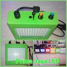 Strowbo LED Kotak RGB Hijau