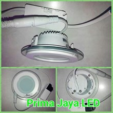 Downlight Hiled Bulat Kaca 6 Watt