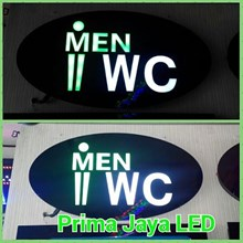 Lampu Sign LED WC Cowo