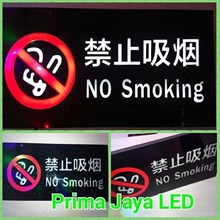 LED Peringatan No Smoking