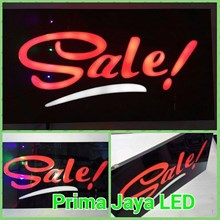 Sign Lampu LED Sale