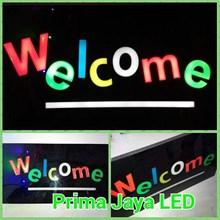 Lampu Petunjuk Welcome Kotak