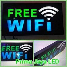 LED Lampu Petunjuk Free Wifi