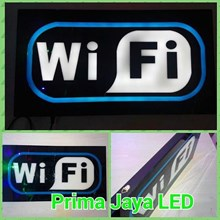 Lampu Sign WIfi LED