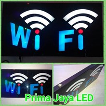 Lampu Sign LED Wifi
