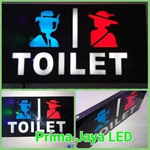 New LED Sign Toilet