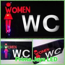 Sign Women WC LED