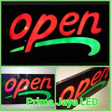 LED Sign Tulisan Open