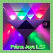 LED Wall lamp Triangle 8 Watt