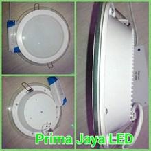 LED Downlight Bulat Kaca 18 Watt