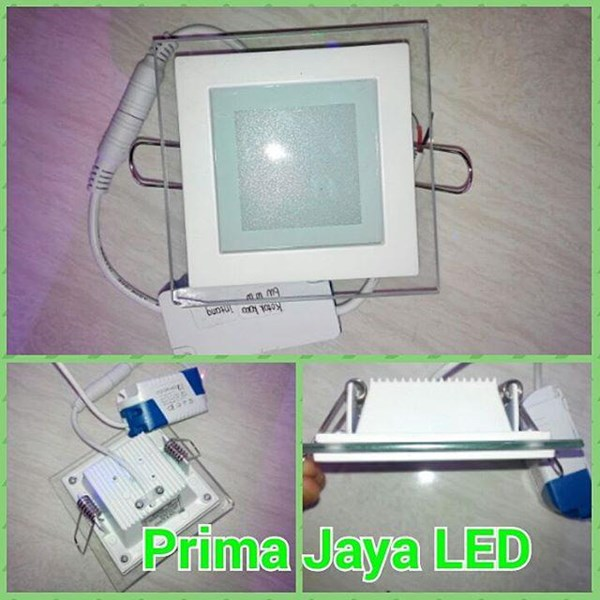 Glass Downlight LED lamp 6 Watt