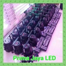Par LED 54 Set DMX Mixer