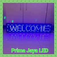 Jual LED Display 96 X 16 Cm Single Color