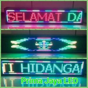 LED Running Teks RGB 101 X 21 Cm
