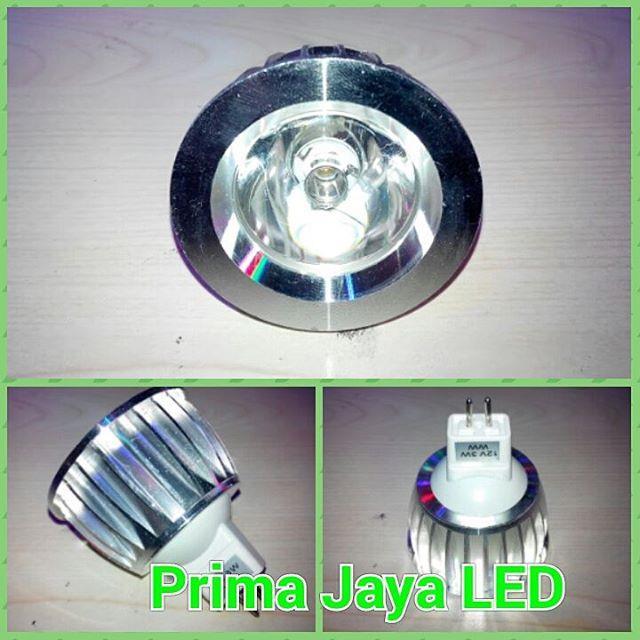 Jual Lampu LED MR16 DC 12 Volt 3 Watt Harga Murah Jakarta