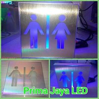 Sign Kotak Restroom LED 20cm 1