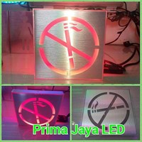 No Smoke LED Sign Kotak 1