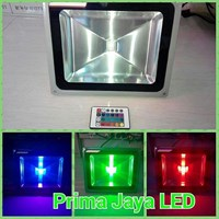Spotlight LED RGB 50 Watt Remote 1