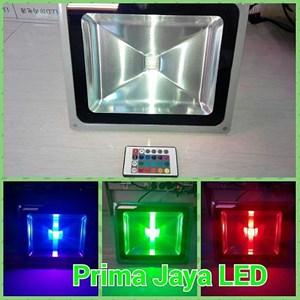 Spotlight LED RGB 50 Watt Remote