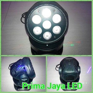 Mini Moving Head LED RGB Color