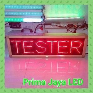 Running Teks LED 70 X 21 Cm