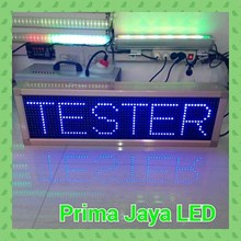 Display LED Biru 70 X 21 Cm