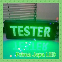 Jual LED Display Hijau 100 X 41 Cm