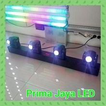 Mini LED Beam 4 Head RGBW